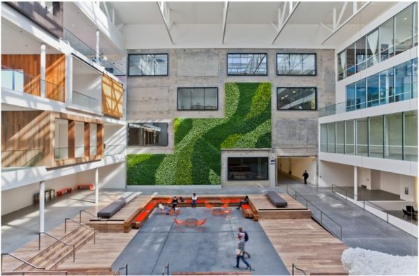 Airbnb Offices, San Francisco (Courtesy of Customspaces.com)