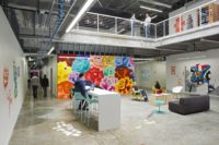 Facebook Offices, Menlo Park (Courtesy of Customspaces.com)